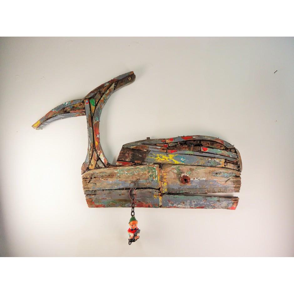Balena Grigia con Pinocchio