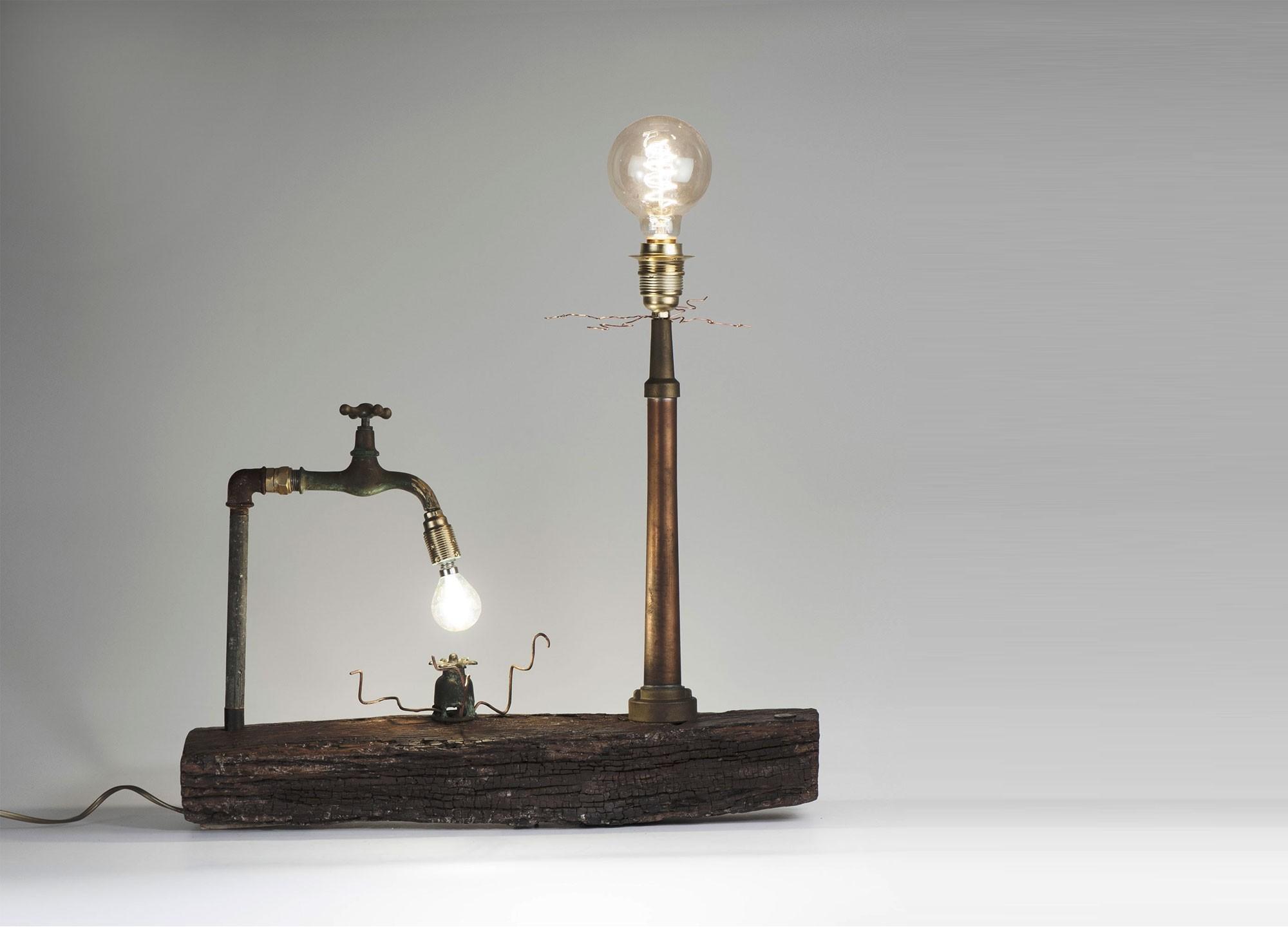 Il Faro - Lampada Artigianale
